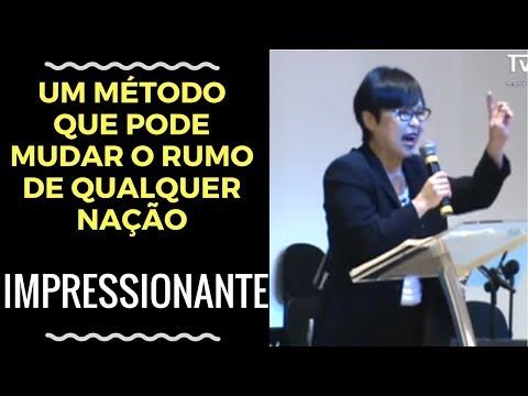 Chocante!Forte testemunho da Missionária YON HI SON(GINA)da Coréia do Sul - AD RENOVAR SJC