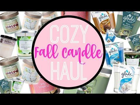 Headache FREE Fall Candle Haul   Affordable + Pretty!