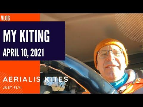 My Kiting - April 10th 2021 - KAP'ing over Little Denmark