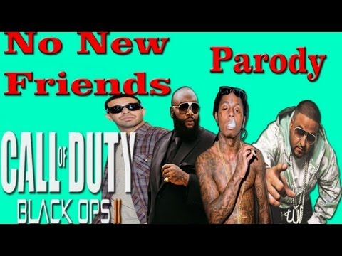 DJ Khaled - No New Friends ft. Drake, Rick Ross & Lil Wayne (Music Video Parody) Black ops 2