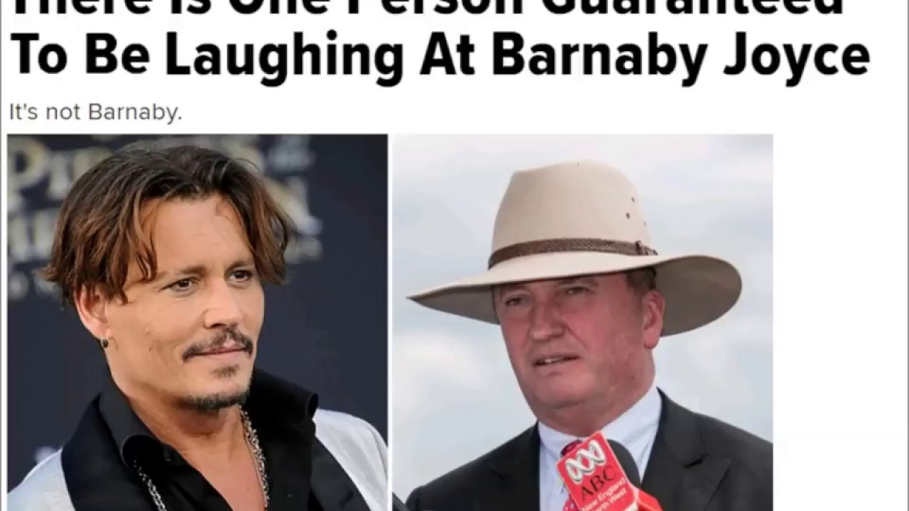 Barnaby Joyce Ring Of Fire involvement with staffer #1