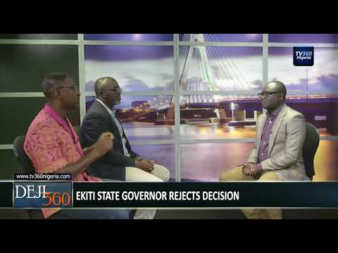 DEJI360 EP 187 Part 1: Governors forum approves withdrawal of $1bn to fight insurgency