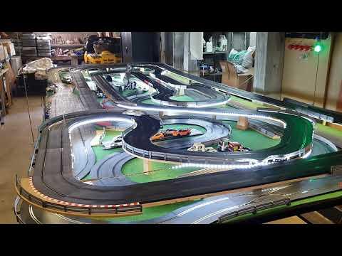 Nouveau circuit scalextric 56 mètres
