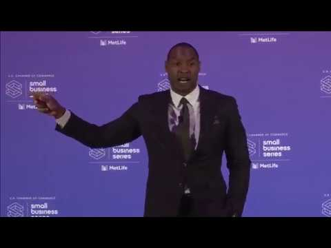 Dallas Cowboys Legend and Entrepreneur Darren Woodson Keynote at Small Business Master Class: Dallas