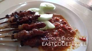 Sate Plecing Babi  Pork Stay  Chili Sauce Bali Street Food