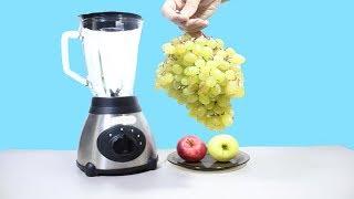 Что будет если, сделать смузи из винограда