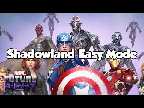 [Marvel Future Fight] Shadowland Easy Mode