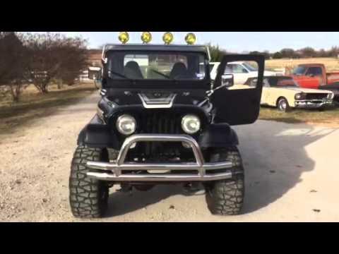 Lifted Jeep Renegade >> Jeep CJ7 Renegade Custom - YouTube