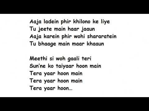 Download Lagu  TERA YAAR HOON MAIN Full Song s Movie – Sonu ke Titu ki Sweety | Arijit Singh Mp3 Free