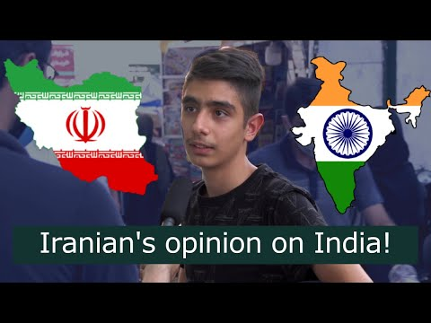 What Iranian's think about India