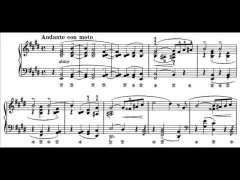 Franz Liszt - Consolation No. 1 (audio + sheet music)
