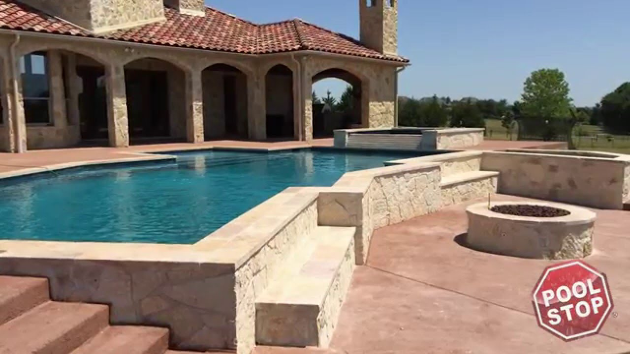 Building a custom inground swimming pool in rockwall tx - Building an inground swimming pool ...