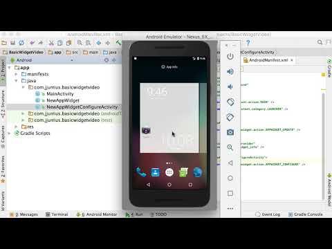 36 - App Widget Introduction