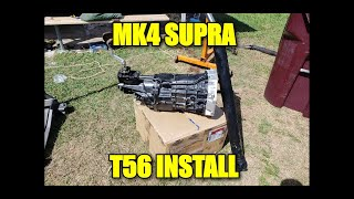 INSTALLING THE T56 ON THE SUPRA