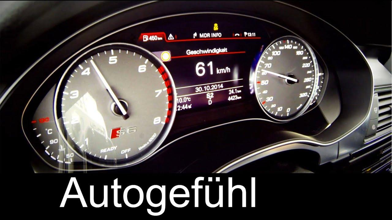 Audi S6 Quattro Acceleration 0 100 Km H 0 60 Mph In 4 Sec