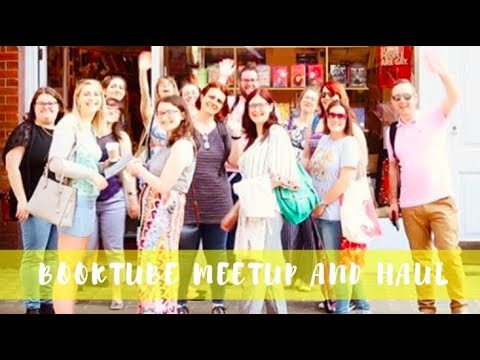 Booktuber Meetup Vlog and Haul | Lauren and the Books