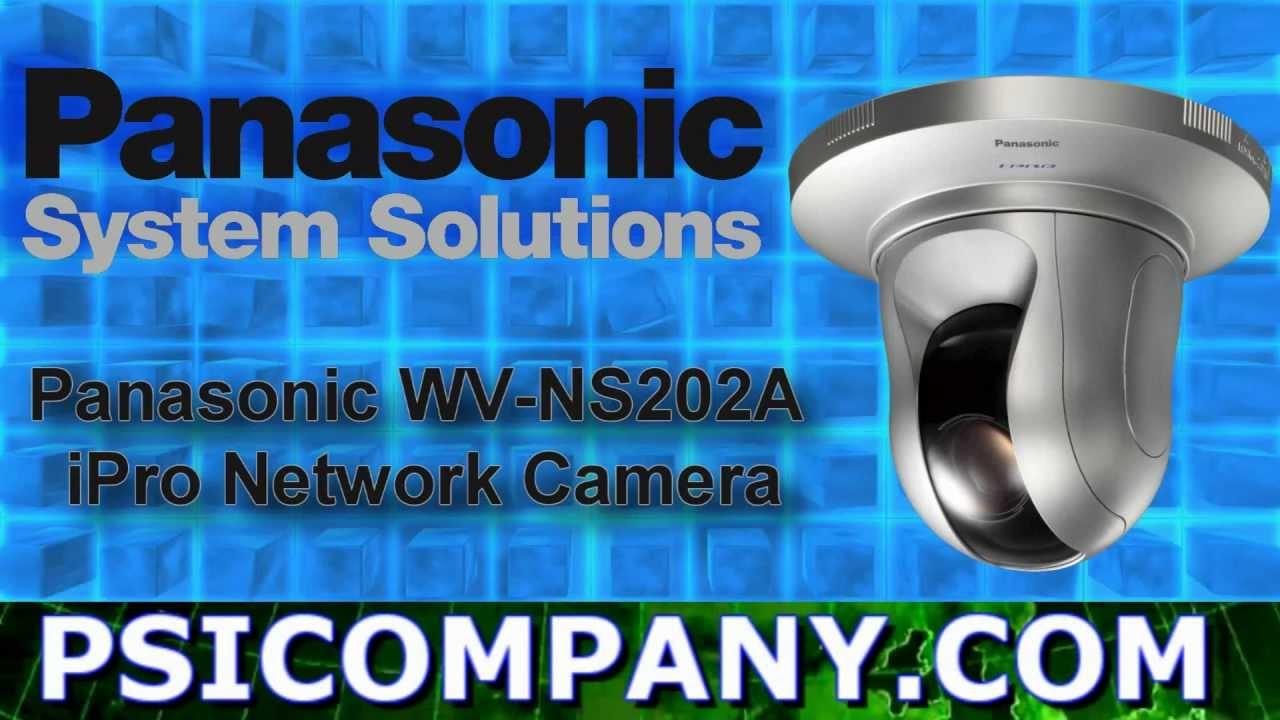 PANASONIC WV-NS202A NETWORK CAMERA WINDOWS 8 DRIVERS DOWNLOAD