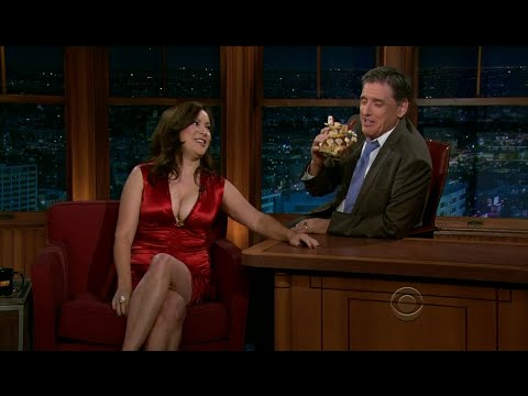 Late Late Show with Craig Ferguson 11/8/2011 Jennifer Tilly, Lawrence Block