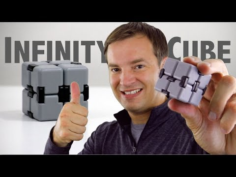 Best Fidget Toy? Infinity Cube Review / Infinity Fidget Cube