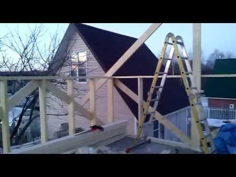 строительство мансарды своими руками