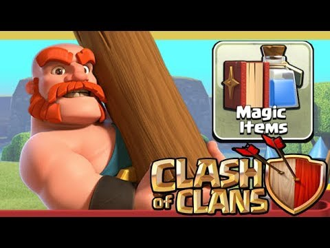 CLAN GAMES And MAGIC ITEMS EXPLAINED!  Clash Of Clans Winter Update 2017