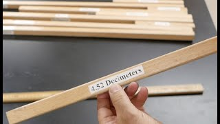 Teaching metric measurements suggestion --- length. // Homemade Science with Bruce Yeany