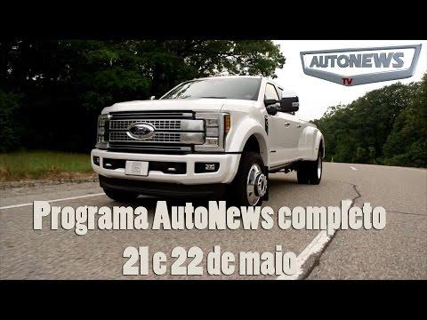 Programa AutoNewsTV - 21 E 22 De Maio