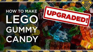 UPGRADED - How To Make LEGO Gummy Candy! TKOR's Guide To Making The Best Gummy Lego Candy!