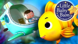 A Sailor Went To Sea | Nursery Rhymes | by LittleBabyBum! | ABCs and 123s