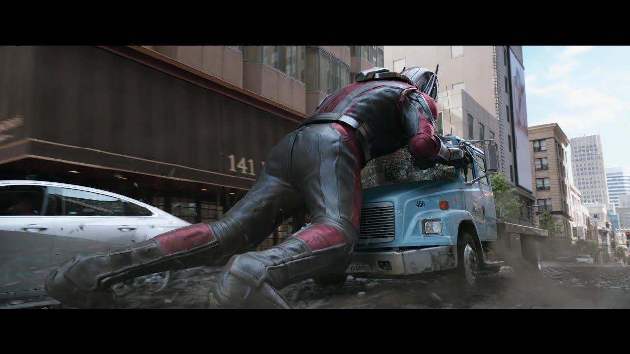 Ant-Man et La Guêpe : Reportage : L'action ne s'arrête jamais