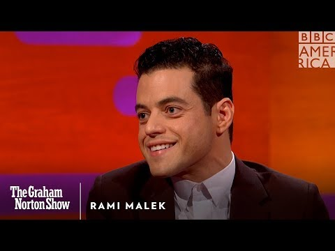 Rami Malek was a bad bad boy  The Graham Norton Show  BBC America
