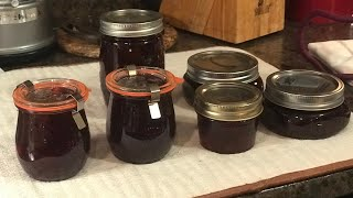 Canning: Cranberry Jalapeño Pepper Jelly in Weck Jelly Jars