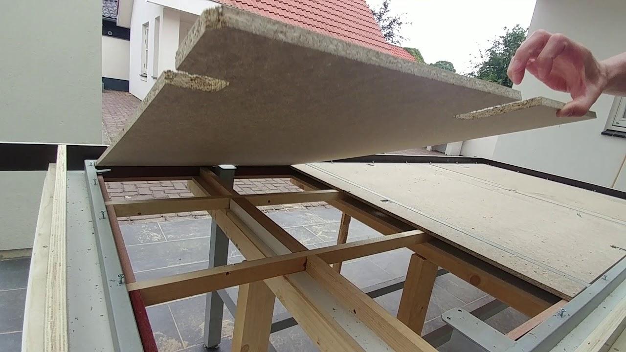 Betonnen tafelblad storten mal maken voorbeeld youtube for Tafelblad maken