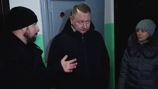 Глава Сергиево-Посадского района проинспектировал ремонт подъездов