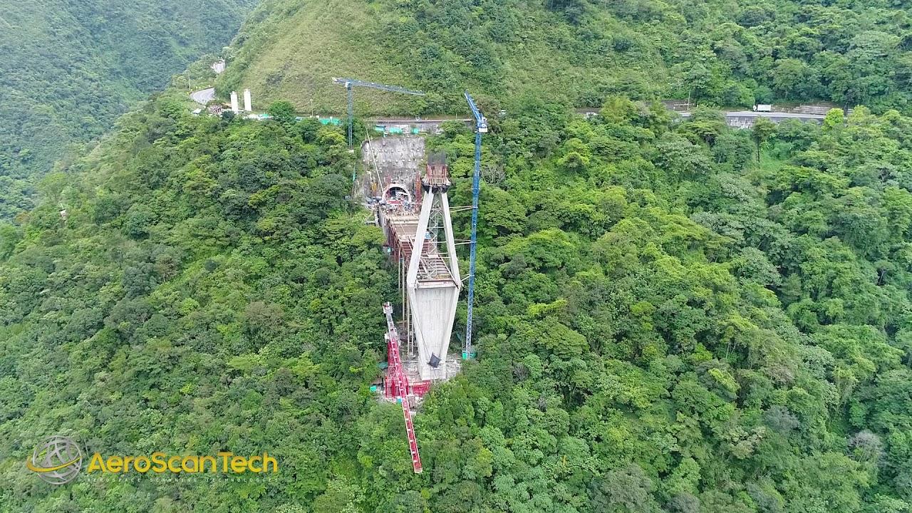 Puente Chirajara Via Bogota Villavicencio Aeroscantech
