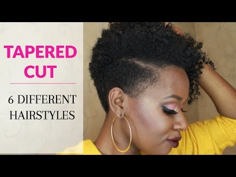 How to Style a Tapered Cut on Natural Hair