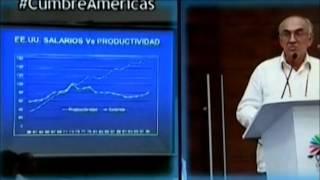 Intervención profesor Beethoven Herrera VI Cumbre las Américas Cartagena - Colombia