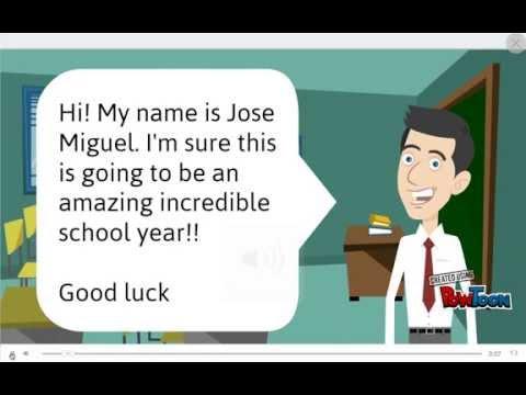 San Gabriel High School English Presentation