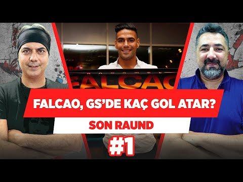 """Radamel Falcao Galatasaray'da Kaç Gol Atar?"" | Serdar Ali Çelikler & Ali Ece | Son Raund #1"