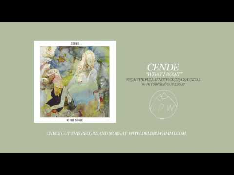 "Cende - ""What I Want"" (Official Audio)"