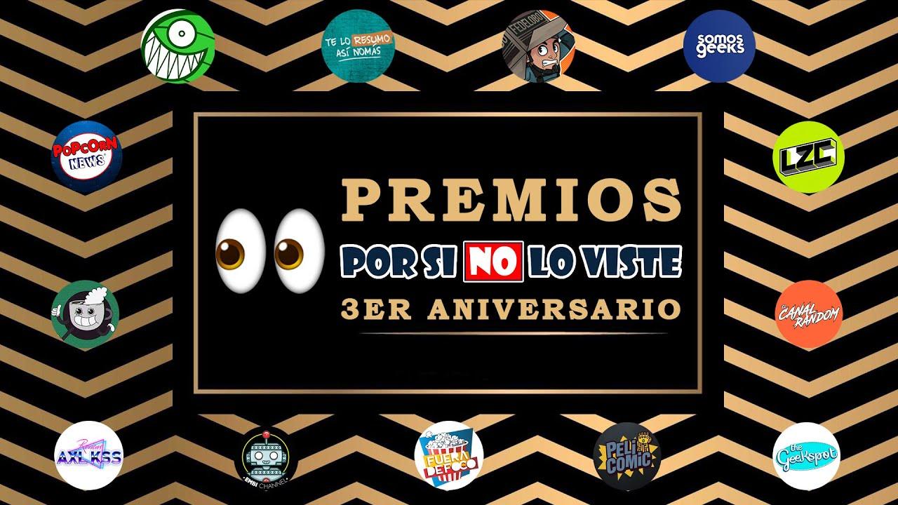 Premios Por si no lo viste 2020 Feat. Fedelobo, Te lo resumo y más