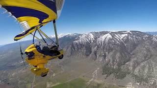 Hang Gliding Tahoe - Miss Nevada flies with Paul Hamilton Part 2