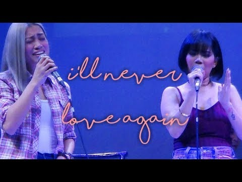 KATRINA VELARDE & EUMEE CAPILE - I'll Never Love Again (The MusicHall Metrowalk | November 14, 2018)
