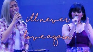 KATRINA VELARDE & EUMEE CAPILE - I'll Never Love Again (The MusicHall Metrowalk   November 14, 2018)