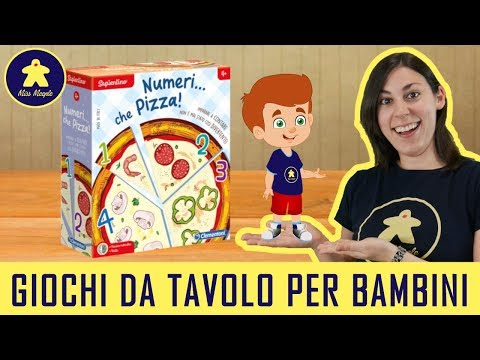 Numeri... Che Pizza! - Gioco da Tavolo per Bambini - Clementoni - 4+ anni