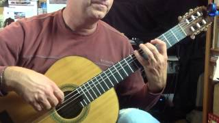 Learning Zapateado by Celedonio Romero, Classical guitar