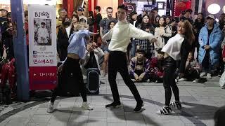Download lagu JHKTV]홍대댄스 다이아나&외국인hong dae k-pop dance diana& audience (othman) DDU-DU DDU-DU - BLACKPINK