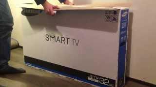 Samsung LED Smart tv UE32F5500 Unboxing + Test [HD]