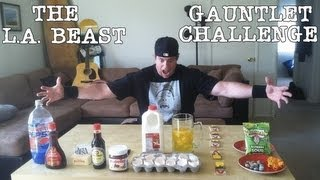 THE L.A. BEAST GAUNTLET CHALLENGE