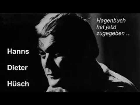 Hagenbuch hat jetzt zugegeben ...  H.D. Hüsch